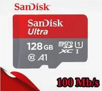 Карта памяти Sandisk Ultra microSDXC 128 GB Class 10